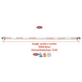 RS60 Horizontale schoor 2.45/2.50m