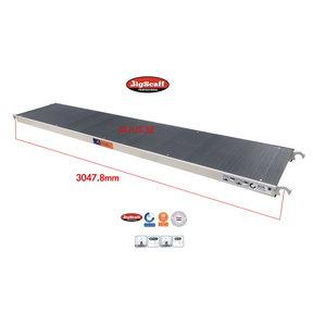 Platform zonder luik 305 Fibertech (lichtgewicht)