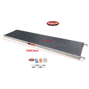 Platform zonder luik 245 Fibertech (lichtgewicht)