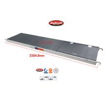 RS60 lichtgewicht platform 2.45 met luik Fibertech