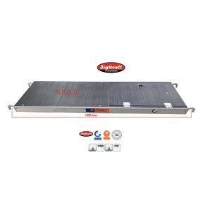 Platform met luik 185 Fibertech (lichtgewicht)