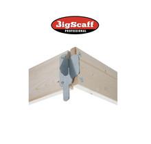 1.35 x 2.45/2.50 m houten kantplankset type RS60
