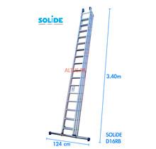 Solide 3-delige professionele schuifladder model D3x16