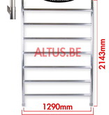 BigScaff RS62 Prof. alu rolsteiger 1.35m x 2.45m x 6.20m Ph= 8.20m Wh