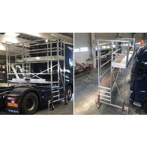 Vrachtwagen/ trekker steiger
