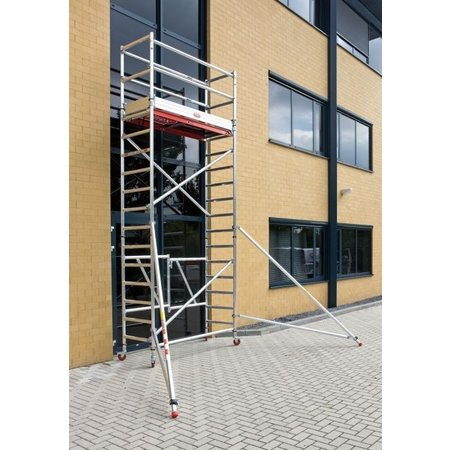 Altrex RS TOWER 54 -smal 0,75m x 1,85m x 5,80m werkhoogte
