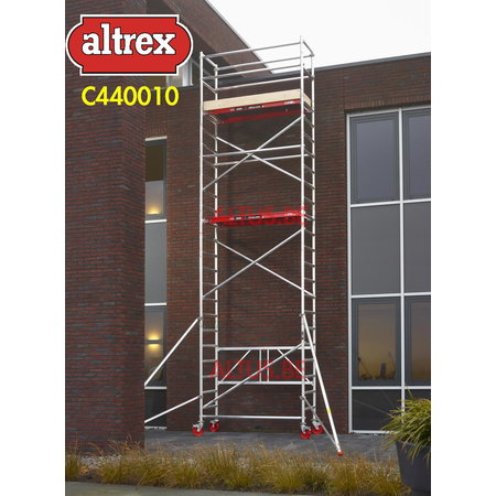 Altrex RS 44-power kamersteiger 0.75 x 1.85 x 7.80m WH