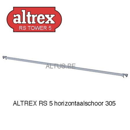 altrex ALTREX RS TOWER 51-smal 0,75 x 3,05 x 6,20m WH