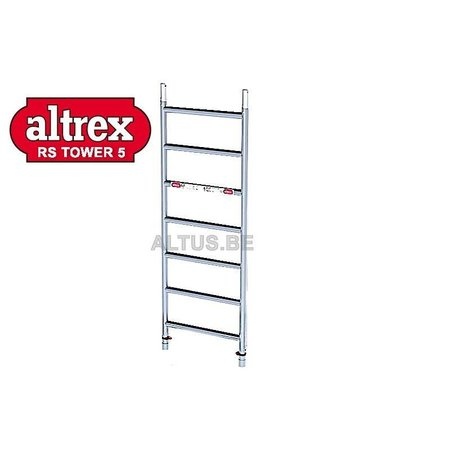 altrex ALTREX RS TOWER 51-smal 0,75 x 2,45 x -7,20m WH