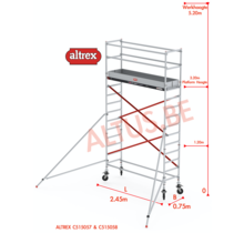 ALTREX RS TOWER 51-smal 0,75 x 2,45 x -5,20m WH