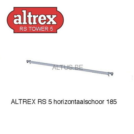 altrex ALTREX RS TOWER 51-smal 0,75 x 1,85 x -4,20m WH