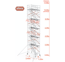 trapsteiger rs tower 53/1.35 x 2.45 x 14.20m werkhoogte