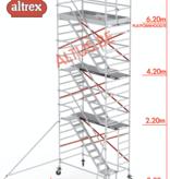 altrex Altrex trapsteiger rs tower 53/1.35 x 1.85 x 8.20m werkhoogte