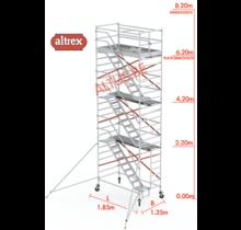 Altrex trapsteiger rs tower 53/1.35 x 1.85 x 8.20m werkhoogte