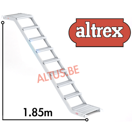 altrex Altrex trapsteiger rs tower 53/1.35 x 1.85 x 4.20m werkhoogte