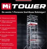 Altrex Altrex MiTOWER  0.75 x 1.10 x 5.20m werkhoogte