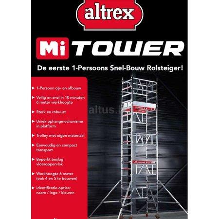 Altrex Altrex MiTOWER  0.75 x 1.10 x 4.20m werkhoogte