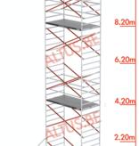 Altrex Altrex rolsteiger 1.35 x 1.85 x 10.20m vh = 12.20m wh