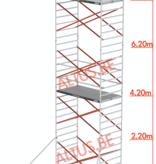 Altrex Altrex rolsteiger 1.35 x 1.85 x 8.20m vh = 10.20m wh