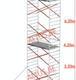 Altrex Altrex rolsteiger 1.35 x 2.45 x 8.20m vh = 10.20m wh