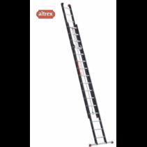 ZS 2080 Altrex mounter met touw 2 x 16 treden