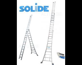 Solide 3-delige ladders (D)