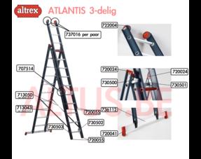 Altrex Atlantis 3-delig onderdelen