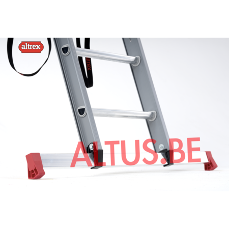 Altrex Altrex atlantis 3-delig reformladder  3x12 treden