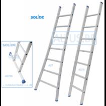 Professionele enkele ladder 7 treden 2.00m