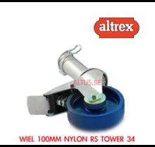 Altrex RS34  Wiel 100mm nylon