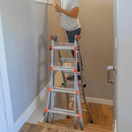 altrex Little Giant Velocity 4x4 ladder