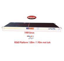 RS60 platform met  luik 1.85m