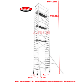 module 4 All-round rolsteiger 8.30m vh= 10.30m wh