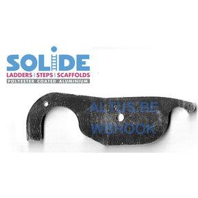 Haak voor werkbrug Solide