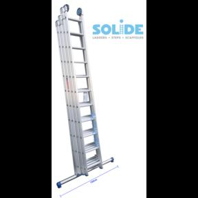 4-delige ladder, 4 x 10 sporten