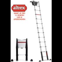 0.89-3.80m Altrex professionele telescopische ladder Smart Up Pro 13 treden