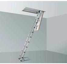 2,45-2,55m plafondhoogte LOFT MINI zoldertrap