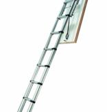 telesteps 2,52-3,00m platfond hoogte LOFT MAXI zoldertrap