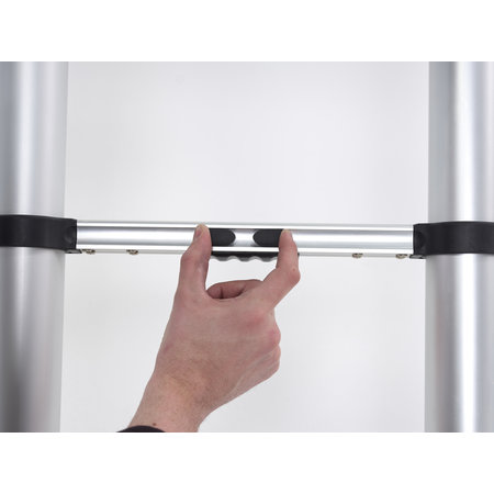 altrex 0.85m - 3.40m Altrex semi-prof. telescopische ladder Smart Up Active 11 treden