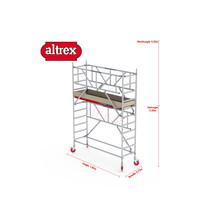 0.75 x 1.85 x 2.20m vh Safe-Quick RS Tower  41-S
