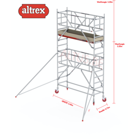 0.75 x 2.45 x 3.20m vh Safe-Quick RS Tower  41-S