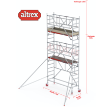 0.75 x 2.45 x 4.20m vh Safe-Quick RS Tower  41-S