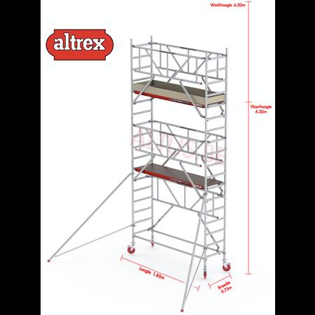 Altrex  0.75 x 1.85 x 4.20m vh Safe-Quick RS Tower  41-S