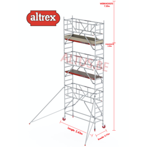 0.75 x 2.45 x 5.20m vh Safe-Quick RS Tower  41-S