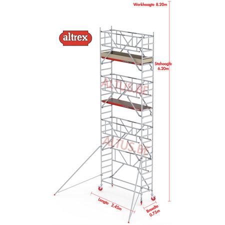 Altrex  0.75 x 2.45 x 6.20m vh Safe-Quick RS Tower  41-S