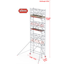 0.75 x 1.85 x 6.20m vh Safe-Quick RS Tower  41-S