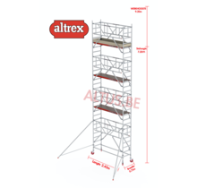 0.75 x 2.45 x 7.20m vh Safe-Quick RS Tower  41-S