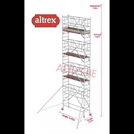 Altrex  0.75 x 2.45 x 7.20m vh Safe-Quick RS Tower  41-S