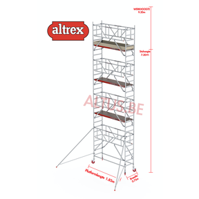0.75 x 1.85 x 7.20m vh Safe-Quick RS Tower  41-S