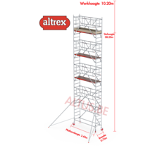 0.75 x 2.45 x 8.20m vh Safe-Quick RS Tower  41-S